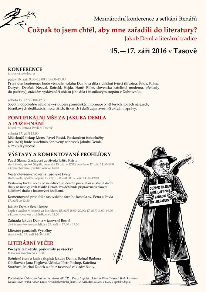 program konference v Tasově